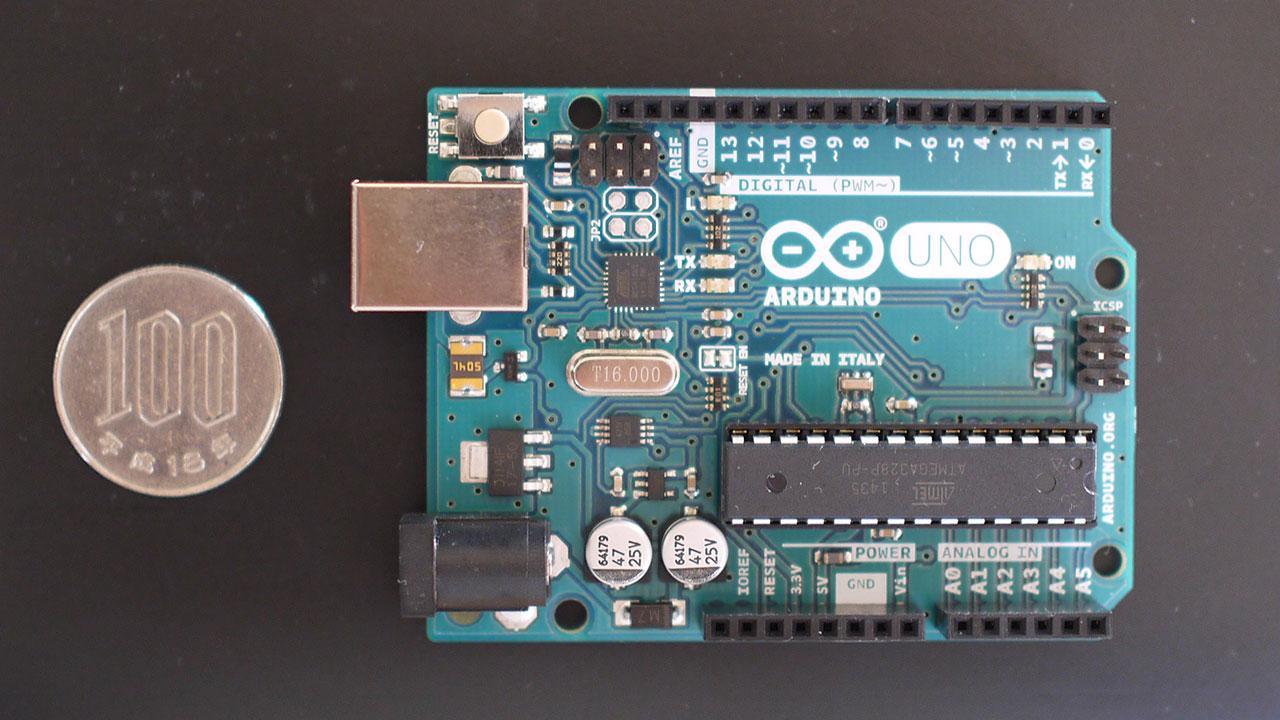 写真:Arduino本体